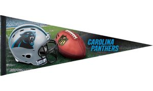 Premium Carolina Panthers Pennant Flag