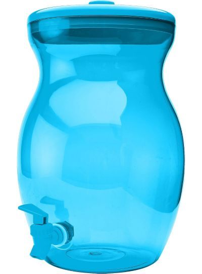 Blue Beverage Dispenser