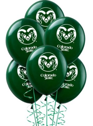 Colorado State Rams Balloons 10ct