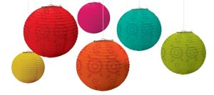 Fiesta Paper Lanterns 6ct