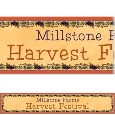 Custom Thanksgiving Medley Banner 6ft
