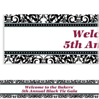 Formal Affair Custom Banner 6ft