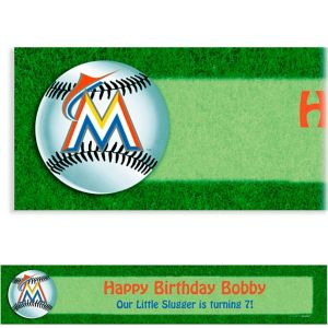 Custom Miami Marlins Banner 6ft