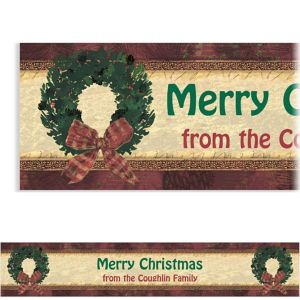 Custom Rustic Christmas Banner 6ft