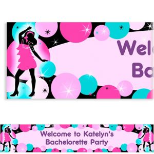 Custom Girl's Night Out Banner 6ft