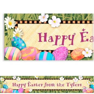 Custom Easter Elegance Easter Banner 6ft