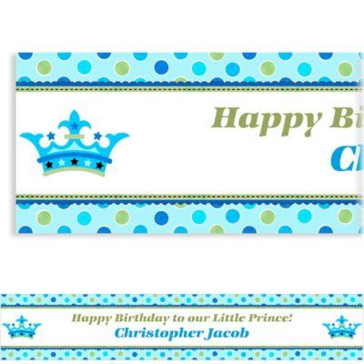 Custom Little Prince Birthday Banner 6ft