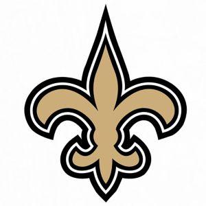 New Orleans Saints Decal