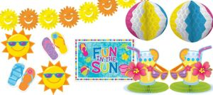 Fun in the Sun Decorating Kit 10pc
