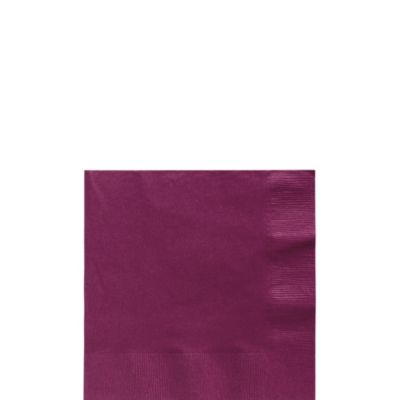 Berry Beverage Napkins 125ct