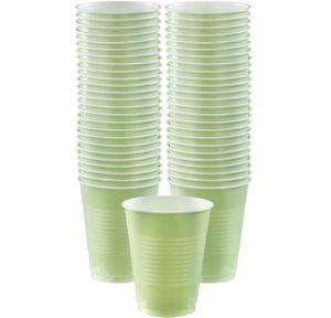BOGO Leaf Green Plastic Cups 50ct