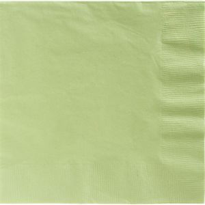 Big Party Pack Leaf Green Dinner Napkins 50ct