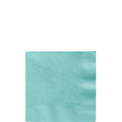 Robin's Egg Blue Beverage Napkins 125ct