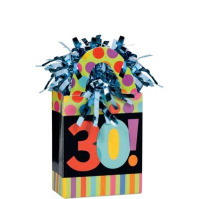 Year To Celebrate 30 Balloon Weight 5.7oz