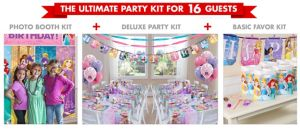 Disney Princess Ultimate Party Kit for 16 Guests