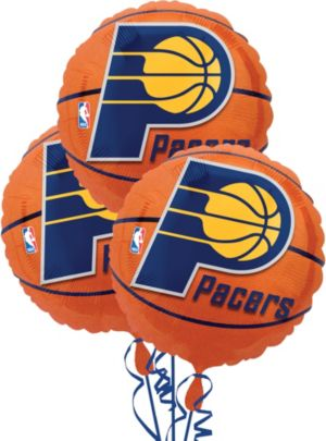 Indiana Pacers Balloons 3ct - Basketball