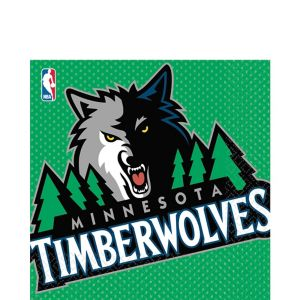 Minnesota Timberwolves Lunch Napkins 16ct
