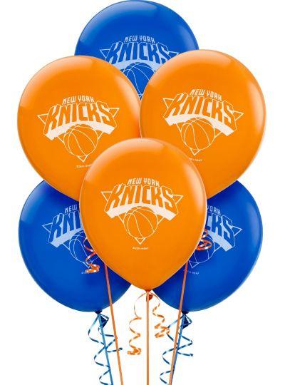 New York Knicks Latex Balloon 12in 6ct