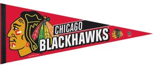 Chicago Blackhawks Pennant Flag