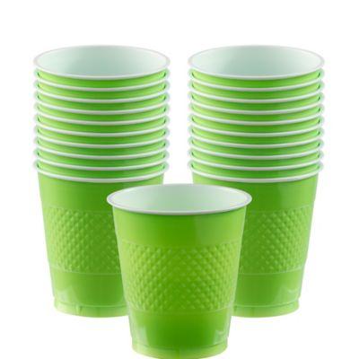 Kiwi Plastic Cups 12oz 20ct