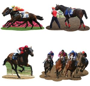 Derby Day Cutouts 4ct