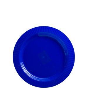 Royal Blue Premium Plastic Dessert Plates 32ct