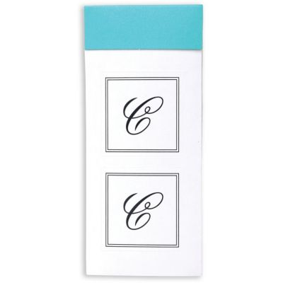 Monogram Envelope Seals C 30ct