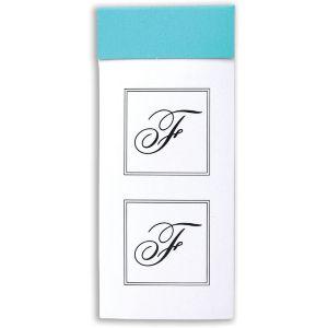 Monogram Envelope Seals F 30ct