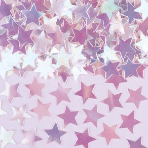 Mini Iridescent Star Confetti 0.25oz