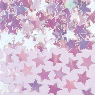 Mini Iridescent Star Confetti 0.25oz