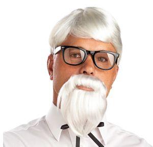 The Colonel Wig & Moustache