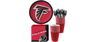 Atlanta Falcons Basic Party Kit for 18 Guests