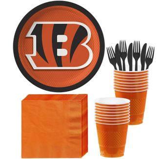 Cincinnati Bengals Basic Party Kit for 18 Guests