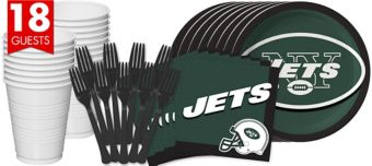 New York Jets Basic Party Kit for 18 Guests
