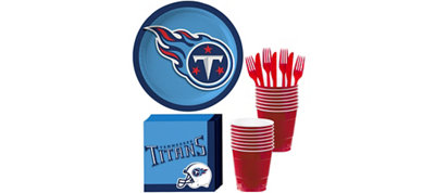 Tennessee Titans Basic Party Kit for 18 Guests