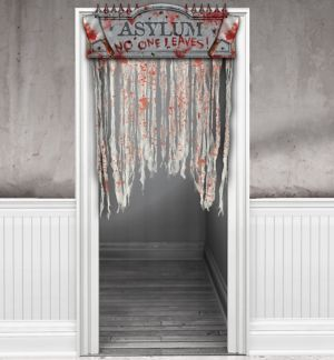 Bloody Doorway Curtain - Asylum