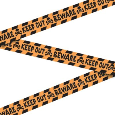 Keep Out Beware Tape