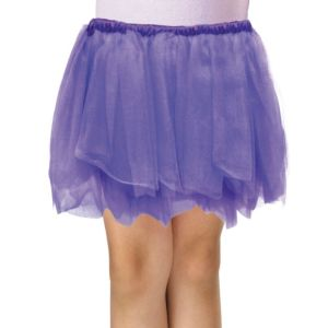 Girls Purple Tulle Skirt