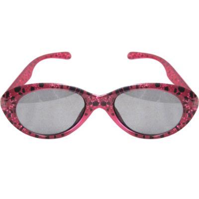 Fuchsia And Black Sunglasses