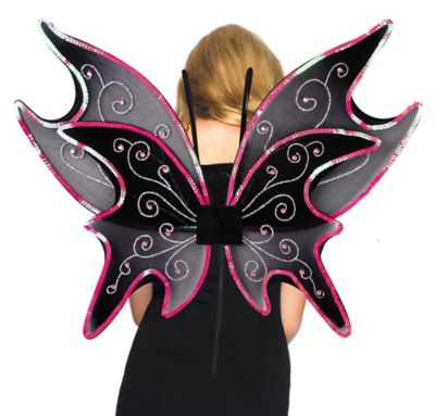Sequin Fairy Wings