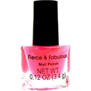 Glow In The Dark Neon Pink Nail Polish