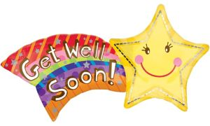 Get Well Balloon - Star