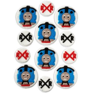Wilton Thomas the Tank Engine Icing Decorations 12ct