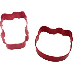 Wilton Hello Kitty Cookie Cutter Set 2ct