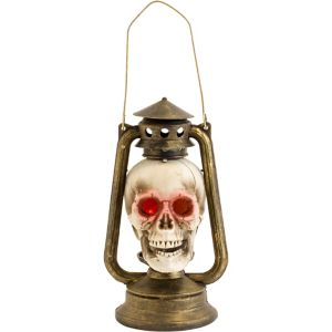 Light-Up Skull Lantern