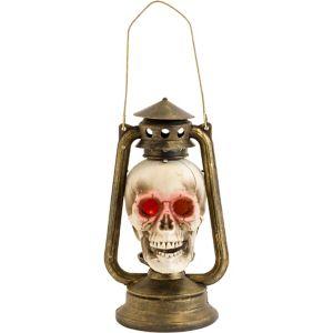 Light-Up Skull Lantern