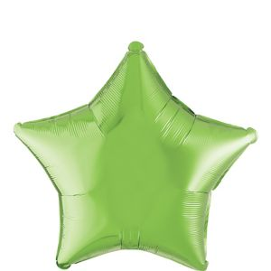 Kiwi Green Star Balloon