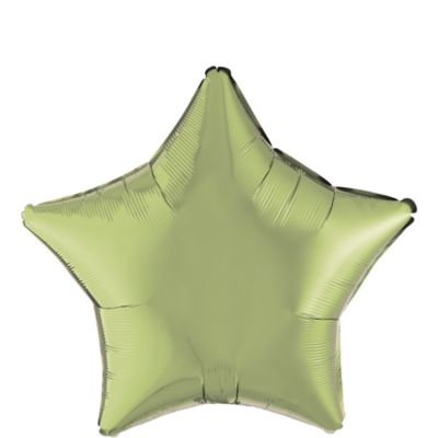 Leaf Green Star Balloon