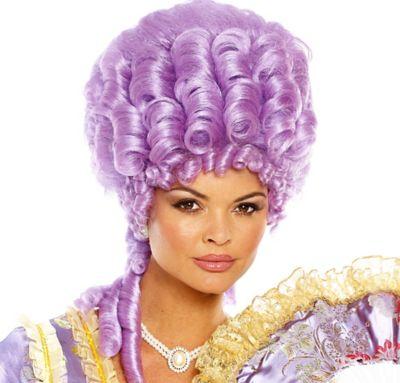 Purple Marie Antoinette Wig