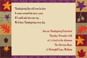 Custom Classical Fall Invitations